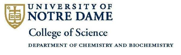Logo - University of Notre Dame College of Science